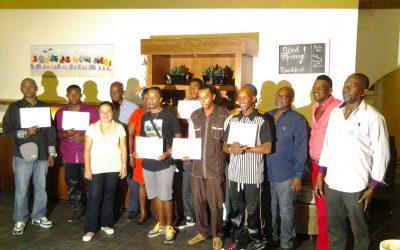Nieuwe groep gecertificeerden van het job program Bonaire